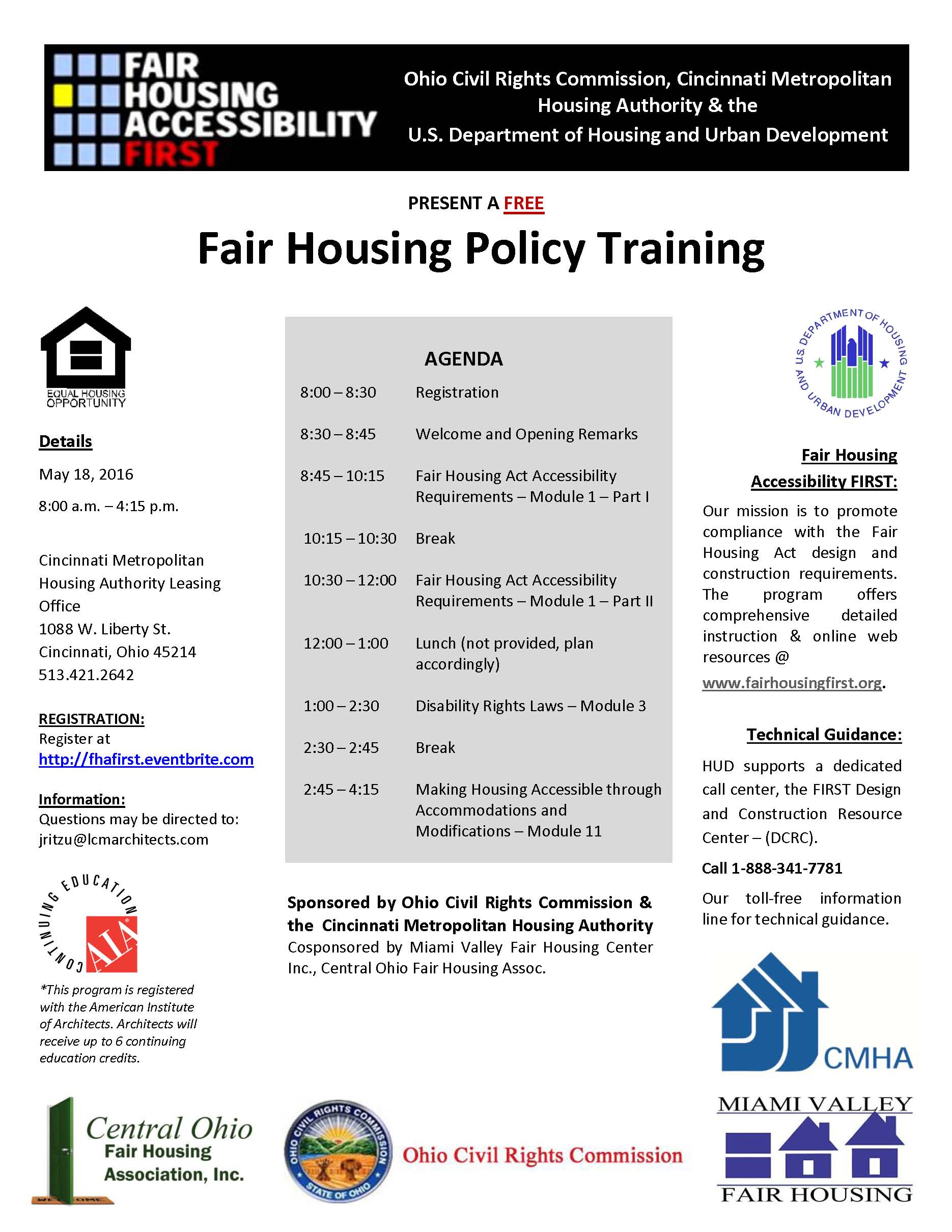thumbnail of Fair Housing Month Poster