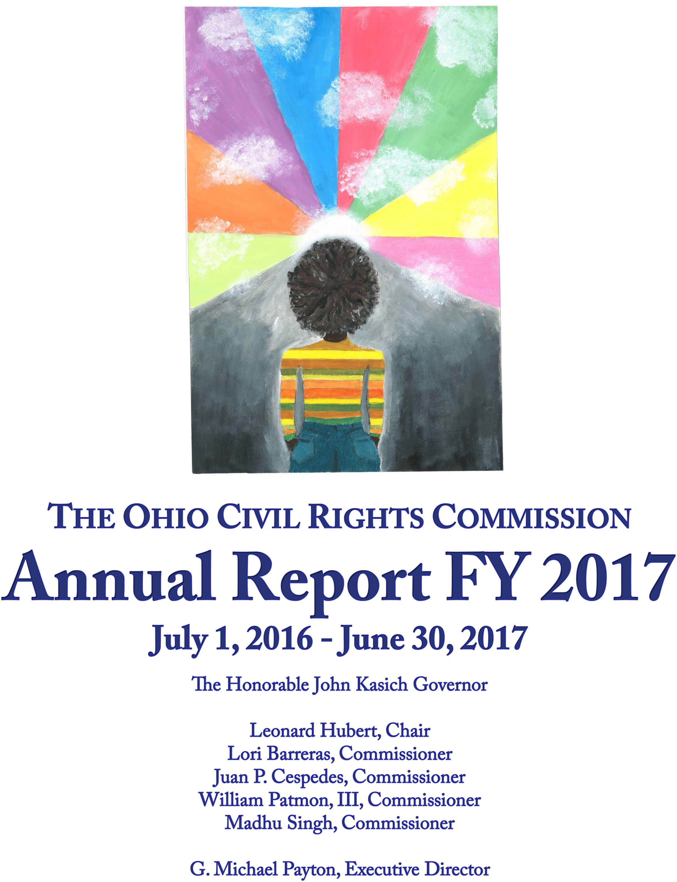 image of the the cover of the FY 2017 Annual Report