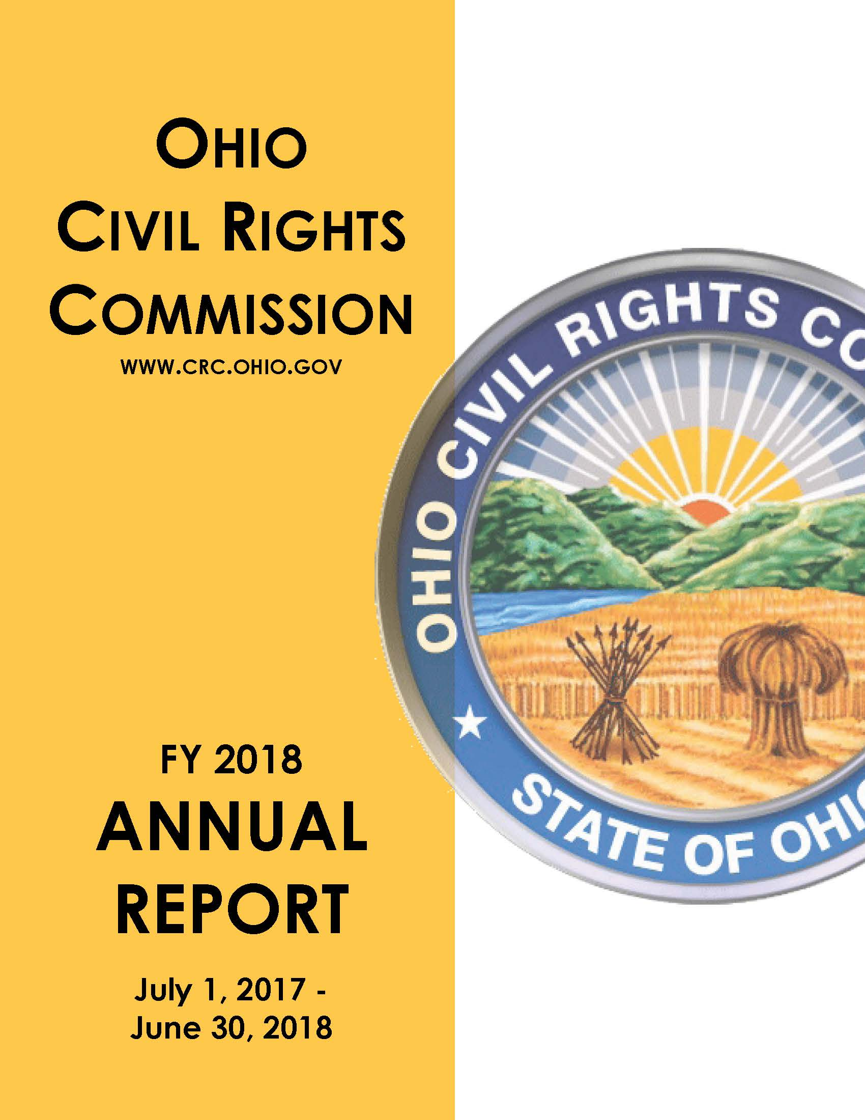 image of the the cover of the FY 2018 Annual Report